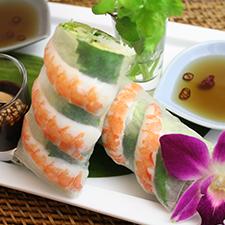 タイ料理のカフェ・レストラン『コロニアルキッチン』人気メニュー:生春巻き